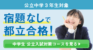中学生 公立入試対策コース